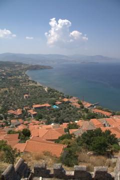 Molivos, Mytilini, Lesbos, antikken, Øyene, Hellas