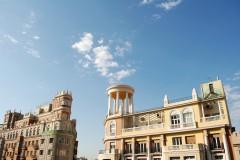 sentrum, arkitektur, historisk bydel, gamleby, Madrid, Madrid og innlandet, Spania