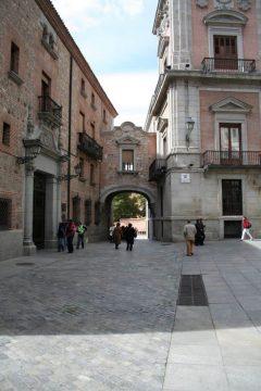 Plaza de la Villa, historisk bydel, gamleby, Madrid, Madrid og innlandet, Spania