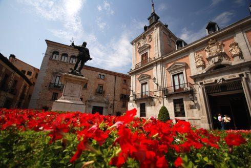 Torre du Lujanes, Plaza de la Villa, Unescos liste over Verdensarven, historisk bydel, gamleby, Madrid, Madrid og innlandet, Spania
