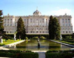 Palacio Real, Campo del Moro, historisk bydel, gamleby, Madrid, Madrid og innlandet, Spania