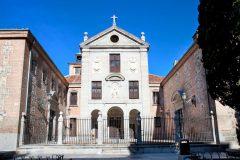 Klosteret Monesterio de la Encarnación, musuem, historisk bydel, gamleby, Madrid, Madrid og innlandet, Spania