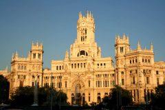Plaza de Cibeles, historisk bydel, gamleby, Madrid, Madrid og innlandet, Spania