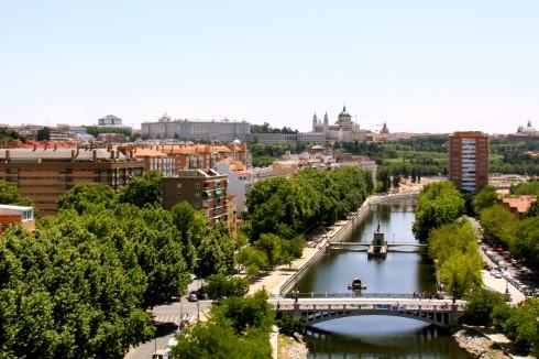 Rio Manzanares, Palacio Real, Unescos liste over Verdensarven, historisk bydel, gamleby, Madrid, Madrid og innlandet, Spania