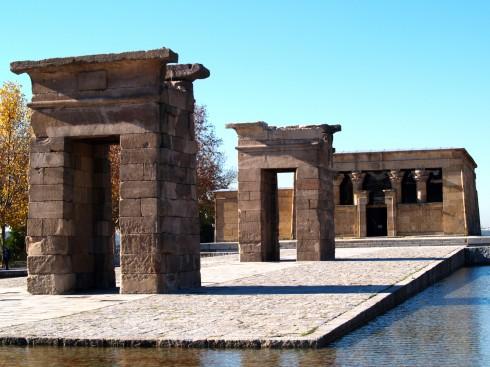 Templo de Debod, Unescos liste over Verdensarven, historisk bydel, gamleby, Madrid, Madrid og innlandet, Spania