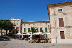 Markedsplassen, Pollenca, Mallorca, Balearene, Spania