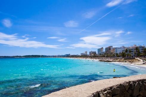 Cala Millor, Mallorca, Balearene, Spania