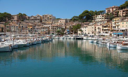 Port de Soller, Mallorca, Balearene, Spania