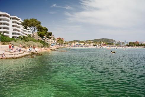 Santa Ponsa, Mallorca, Balearene, Spania