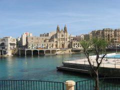 St Julian, Malta, templene, Unescos liste over Verdensarven, korsfarere, Johanitter-ordenen, renessansen barokken, Valletta, Malta