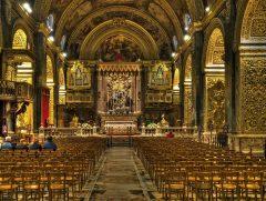 St John's Co-Cathedral, Malta, templene, Unescos liste over Verdensarven, korsfarere, Johanitter-ordenen, renessansen barokken, Valletta, Malta
