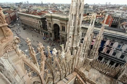 Galleria Vittore Emanuele, Duomo, Milano, Unescos liste over Verdensarven, Lombardia, Nord-Italia-Italia