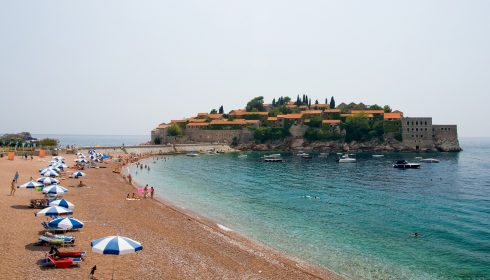 Sveti Stefan, Monenegros Middelhavskyst, middelalder, gotikken, renessanse, Unescos liste over Verdensarven, Montengros Middelhavskyst, Montenegro