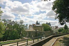 Château de Ducs de Bretagne, Nantes, historisk, bindingsverkshus, gamleby, middelalder, Loiredalen, Vest-Frankrike, Frankrike