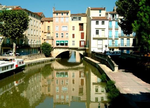 Narbonne, Ponte Marchant, middelalder, Sør-Frankrike, Frankrike