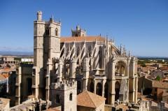 Cathédrale St.-Just et St.-Pasteur, Narbonne, Ponte Marchant, middelalder, Sør-Frankrike, Frankrike