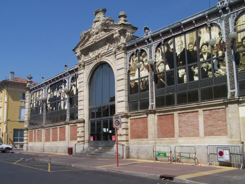Les Halles, Narbonne, Ponte Marchant, middelalder, Sør-Frankrike, Frankrike