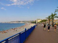 Promenade des Anglais, Nice, Côte d'Azur, Sør-Frankrike, Frankrike
