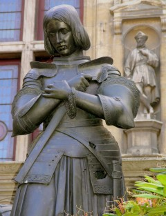 Jeanne d'Arc, Orleans, Vest-Frankrike, Frankrike