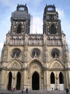 Cathédrale Sainte-Croix, Orleans, Vest-Frankrike, Frankrike