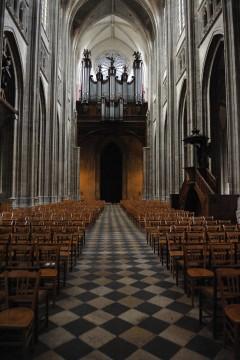 Cathédrale Sainte croix d'Orléans, Orleans, Vest-Frankrike, Frankrike