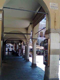 Padova, Piazza delle Erbe, Piazza delle Frutti, Unescos liste over Verdensarven, romerriket, antikken, historiske bydeler, gamlebyen, Veneto, Nord-Italia, Italia