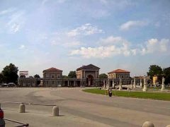 Prato del Valle, Padova, Piazza delle Erbe, Piazza delle Frutti, Unescos liste over Verdensarven, romerriket, antikken, historiske bydeler, gamlebyen, Veneto, Nord-Italia, Italia