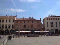 Piazza del Duomo, Padova, Piazza delle Erbe, Piazza delle Frutti, Unescos liste over Verdensarven, romerriket, antikken, historiske bydeler, gamlebyen, Veneto, Nord-Italia, Italia