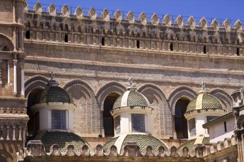 Palermo, duomo, katedral, Palermo, Sicilia, normannisk, Sør-Italia, Italia