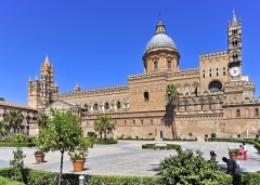 duomo, Palermo, Sicilia, normannisk, Sør-Italia, Italia