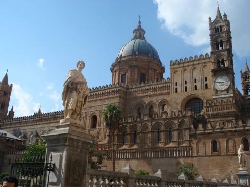 Cattedrale de Palermo, Palermo, Sicilia, normannisk, Sør-Italia, Italia