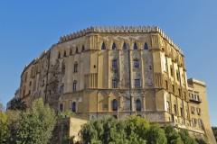 Den normanniske Palazzo Reale, Palermo, Sicilia, normannisk, Sør-Italia, Italia