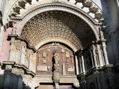 Tympanion, Sa Seu, Palma, middelalderen, historisk bysenter, gamleby, Mallorca, Balearene, Spania
