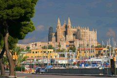 Palma, katedral, Mallorca, Balearene, Spania
