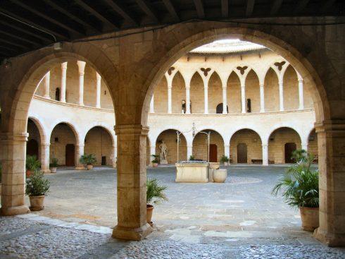 Belvere, Palma, middelalderen, historisk bysenter, gamleby, Mallorca, Balearene, Spania