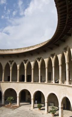 Castell de Bellver, Palma, middelalderen, historisk bysenter, gamleby, Mallorca, Balearene, Spania