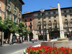 Placa Rei Joan Carles, Palma, middelalderen, historisk bysenter, gamleby, Mallorca, Balearene, Spania