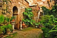 Arabiske bad, Palma, middelalderen, historisk bysenter, gamleby, Mallorca, Balearene, Spania