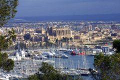 Palma, middelalderen, historisk bysenter, gamleby, Mallorca, Balearene, Spania