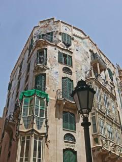Art Noveau, Palma, middelalderen, historisk bysenter, gamleby, Mallorca, Balearene, Spania