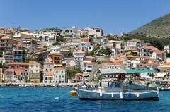 Parga, fastlandet, Hellas