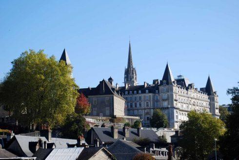 Chateau de Pau, Pau, Viuex ville, gamlebyen, middelalder, Sørvest-Frankrike, Frankrike
