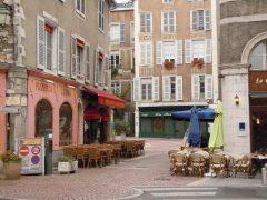 Pau, Viuex ville, gamlebyen, middelalder, Sørvest-Frankrike, Frankrike