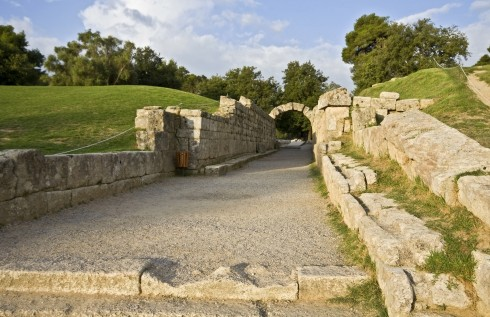 Olympia, Peleponnes, Hellas