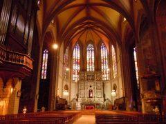 Cathédrale St.-Pierre, Perpignan, middelalder, Sør-Frankrike, Frankrike