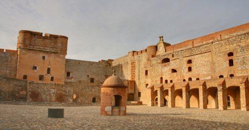 Perpignan, Palais de Rois de Majorque, middelalder, Sør-Frankrike, Frankrike