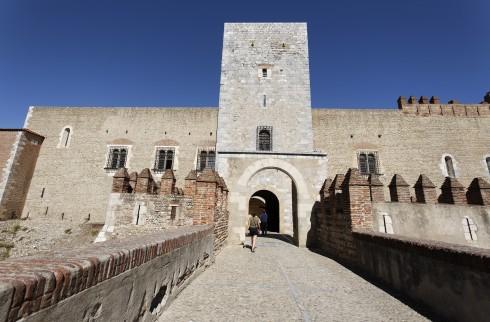 Palais de Rois de Majorque, Perpignan, middelalder, Sør-Frankrike, Frankrike