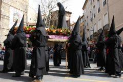 Procession de la Sanch, lanfredag, Perpignan, middelalder, Sør-Frankrike, Frankrike