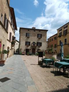 Pienza, middelalder, romansk, historisk, renessanse, Toscana, Midt-Italia, Italia