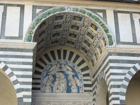 Duomo San Zeno, middelalder, Pistoia, Toscana, Italia